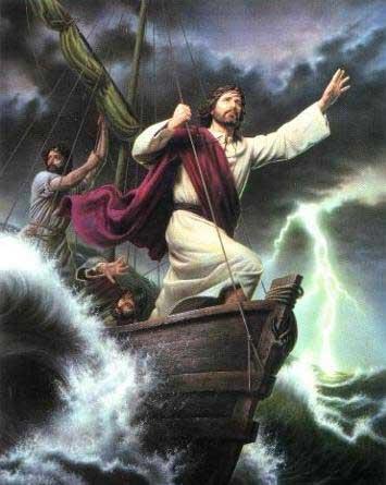 Jesus e a barca