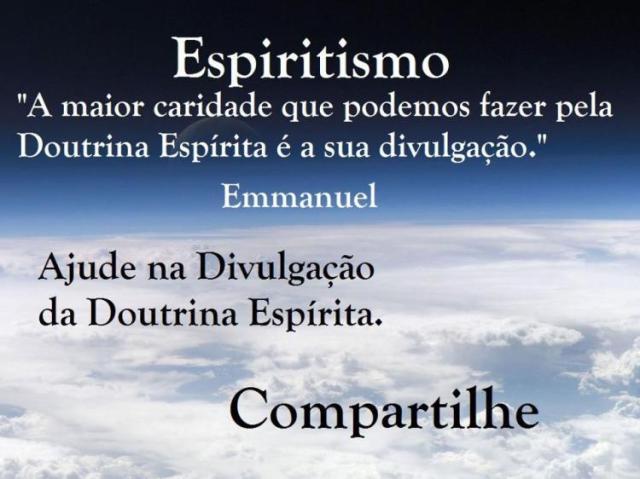 Doutrina Espirita - Divulgar